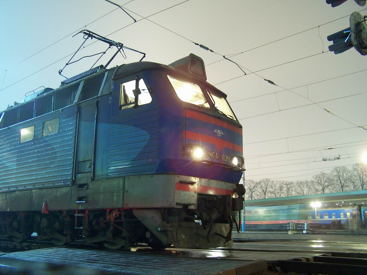 ЧС4-039 на ст. Київ-Пасажирський