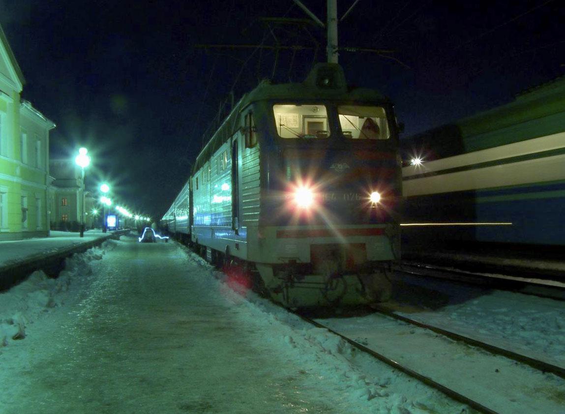 Електровоз ЧС4-076, ст. Шепетівка