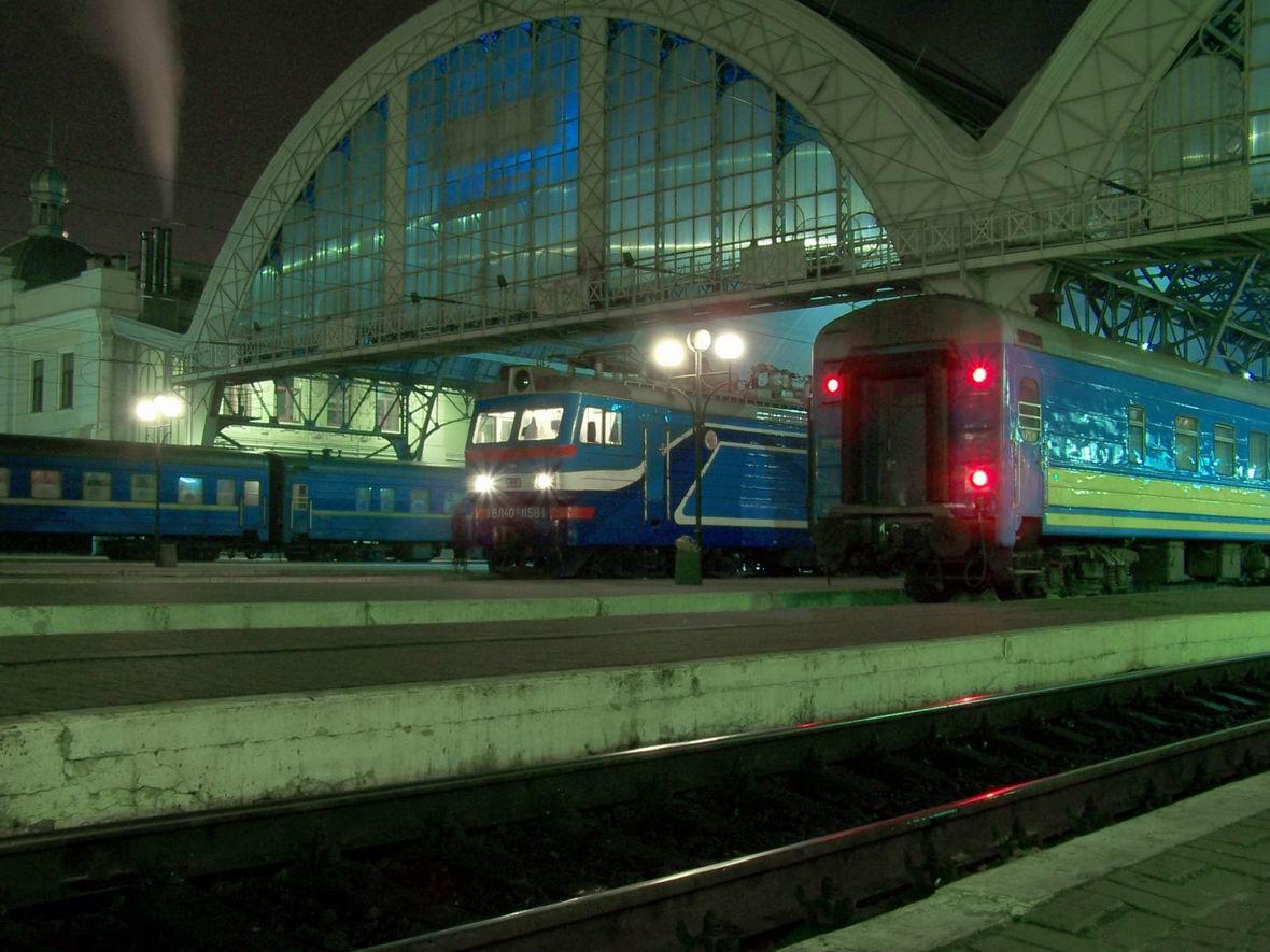 Електровоз ВЛ40У-1158-1, ст. Львів