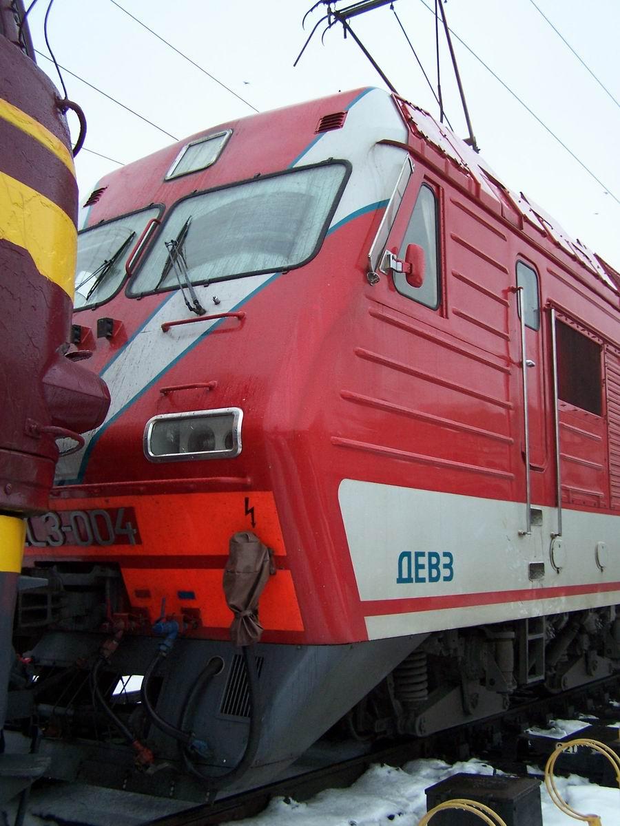 Електровоз ДС3-004, локомотивне депо Київ-Пасс.