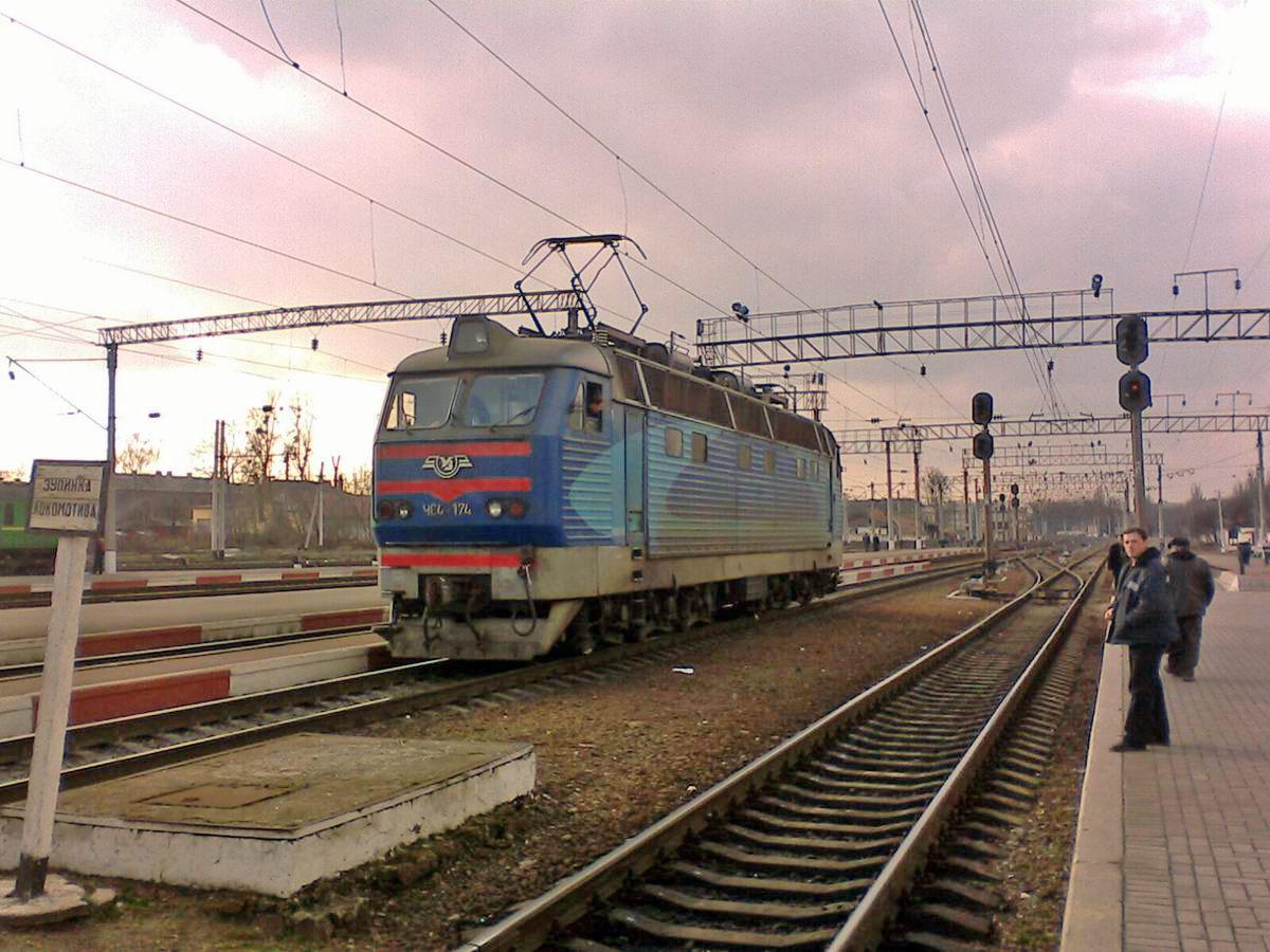 Електровоз ЧС4-174, ст. Хмельницький