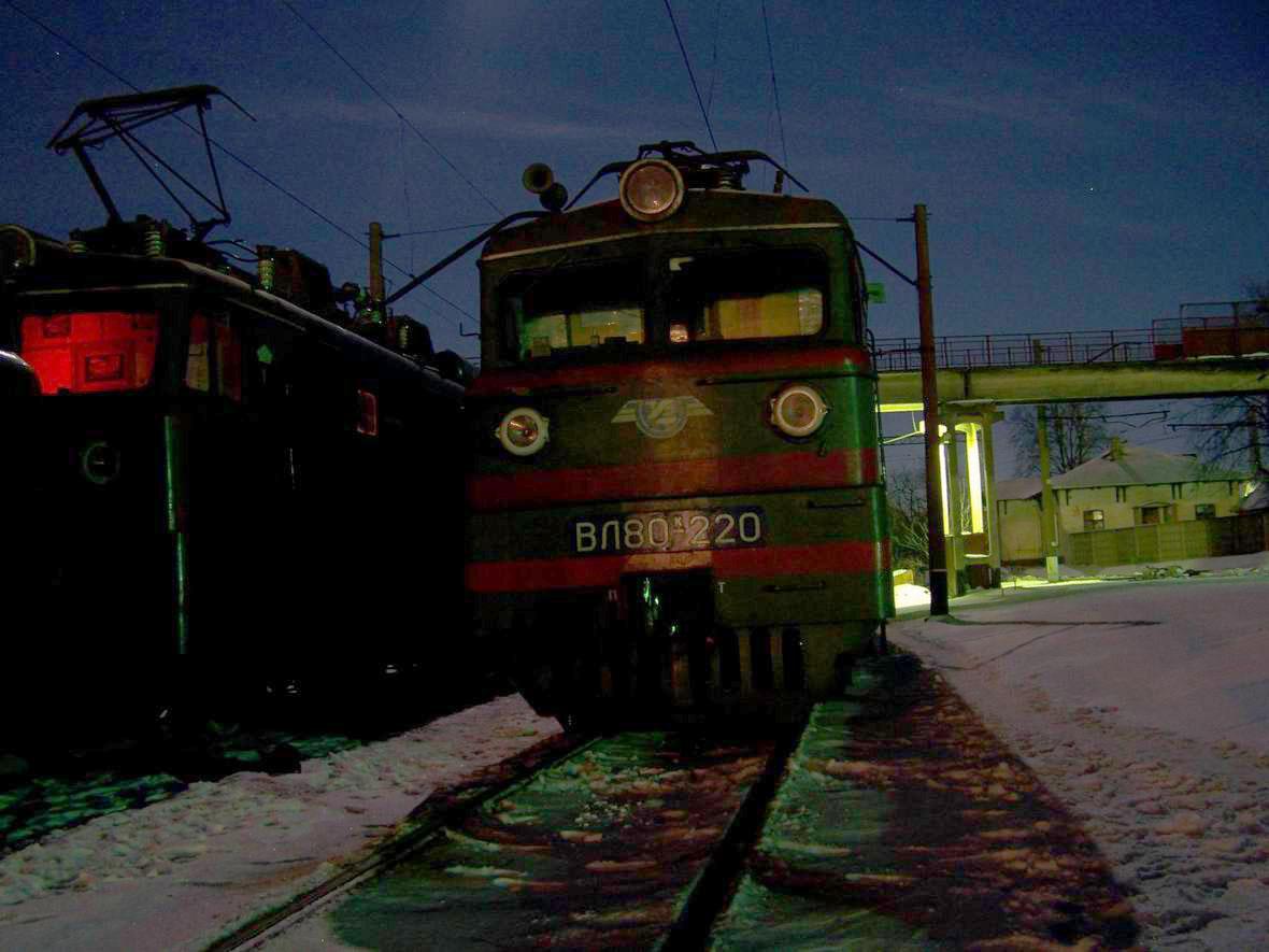 Електровоз ВЛ80К-220, ст. Шепетівка