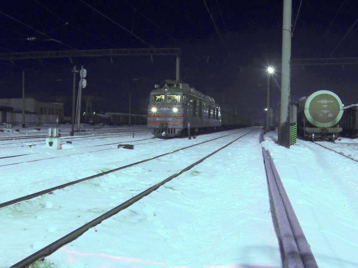 Електровоз ВЛ80К-686, ст. Шепетівка