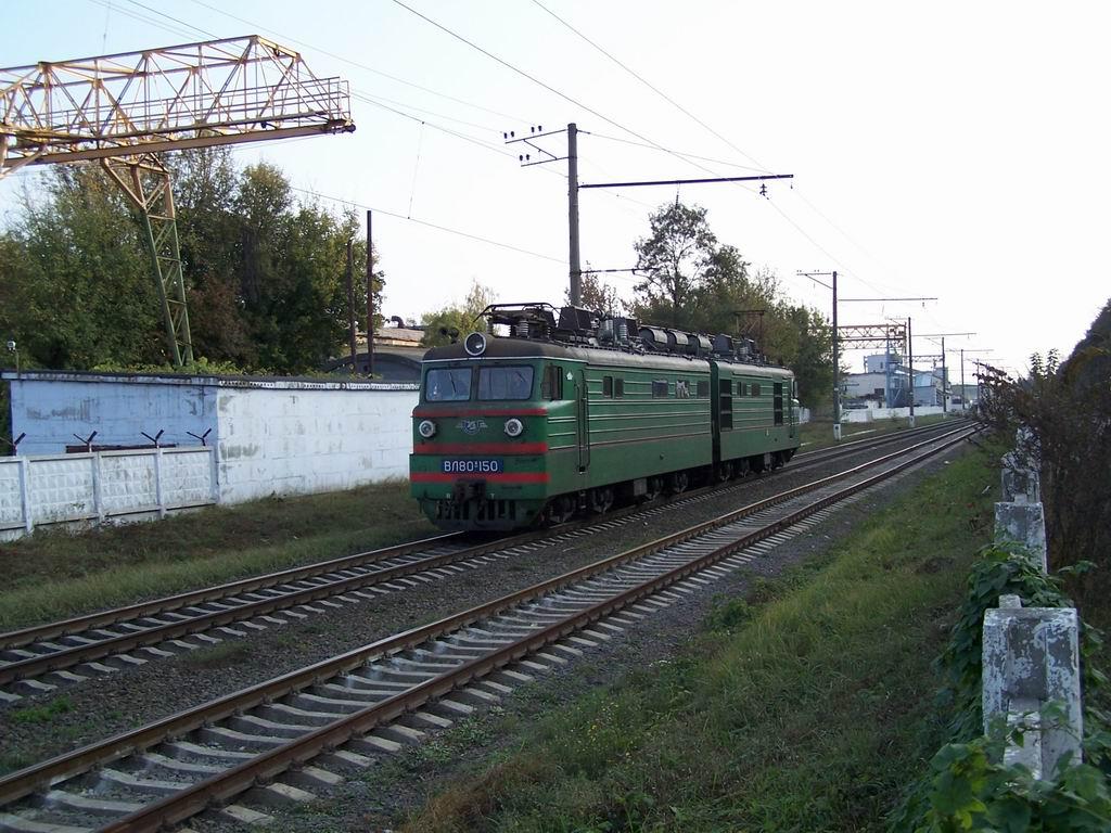ВЛ80к-150 на перегоні ім.П.Кривоноса-Київ-Московський