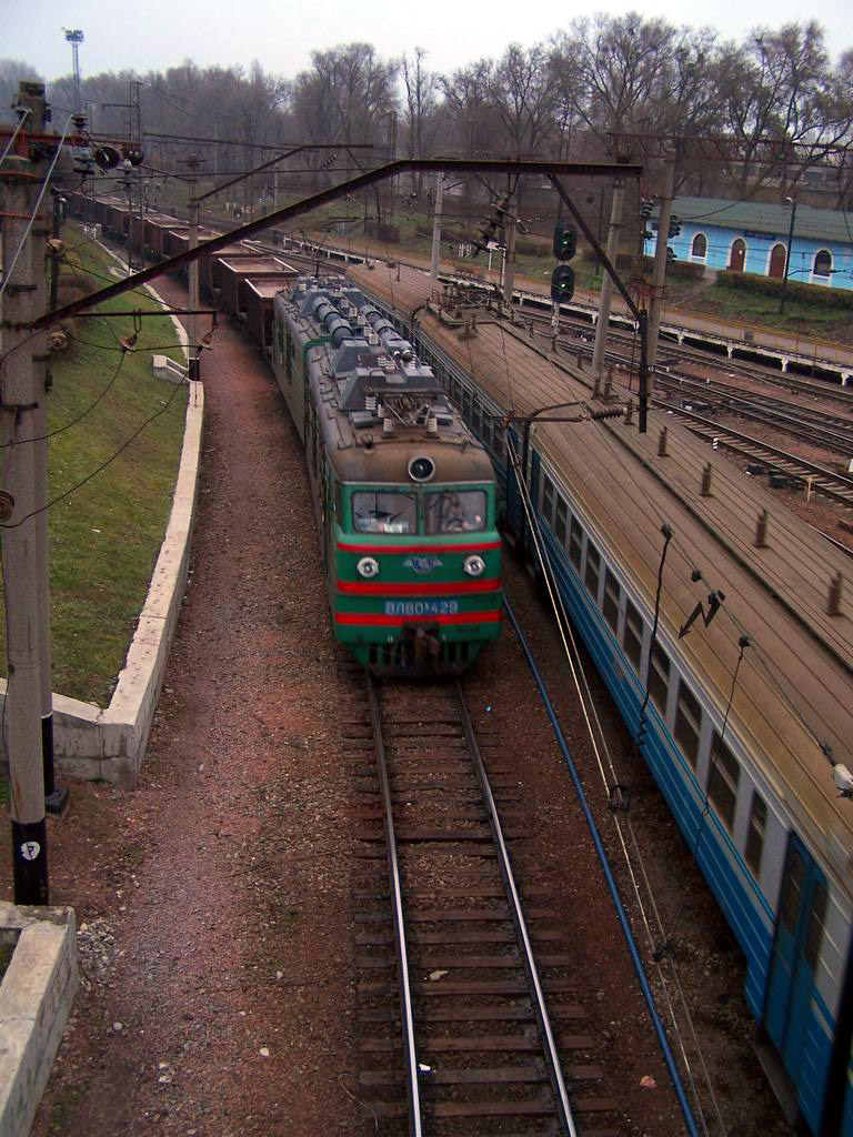 ВЛ80к-429 на ст. Київ-Волинський