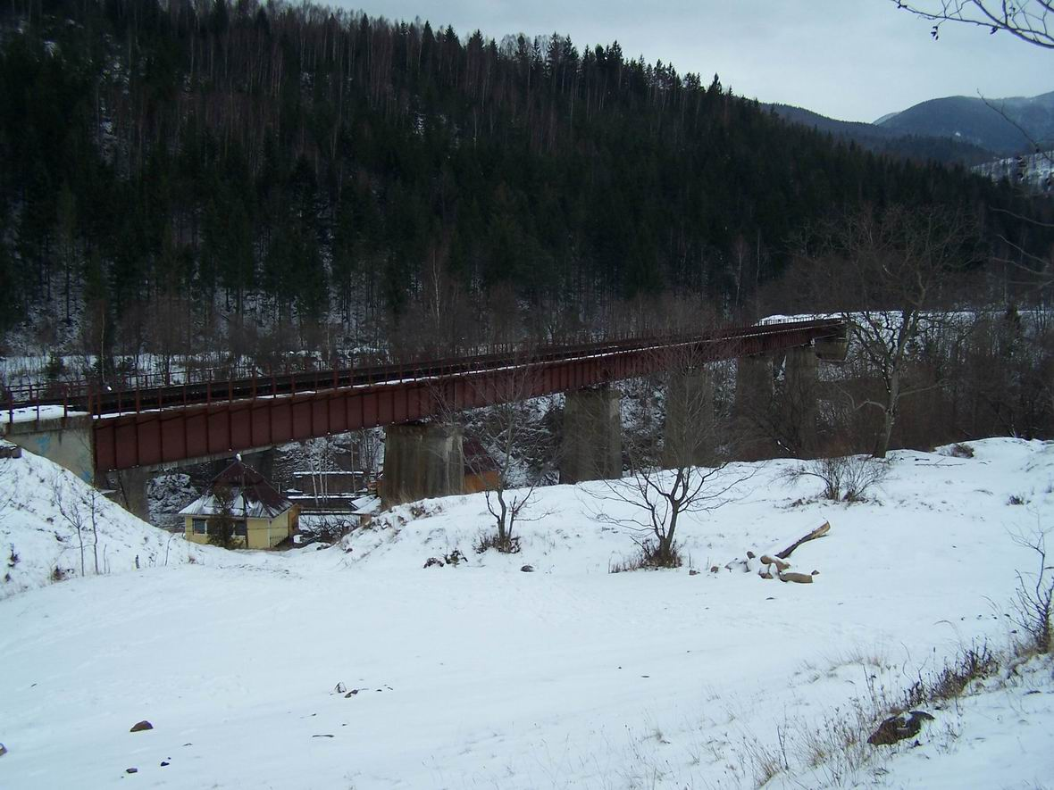 Міст через р. Прут, м. Яремче