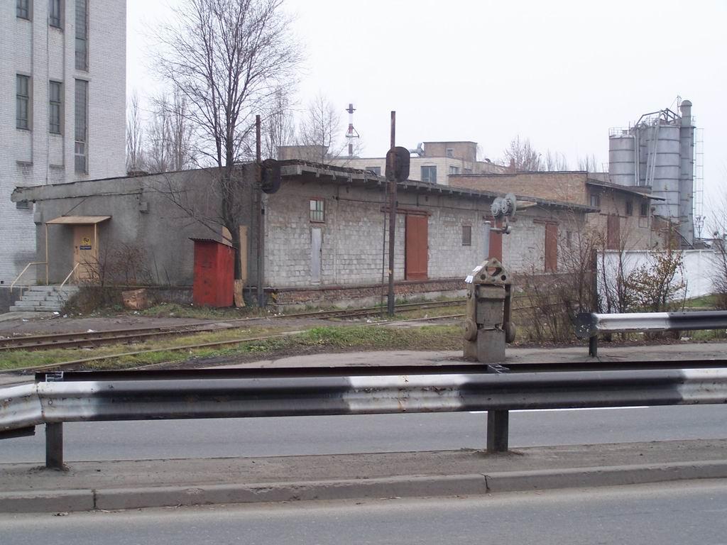 Переїзд Пповітрофлотському проспекті біля ст. Київ-Волинський, м. Київ