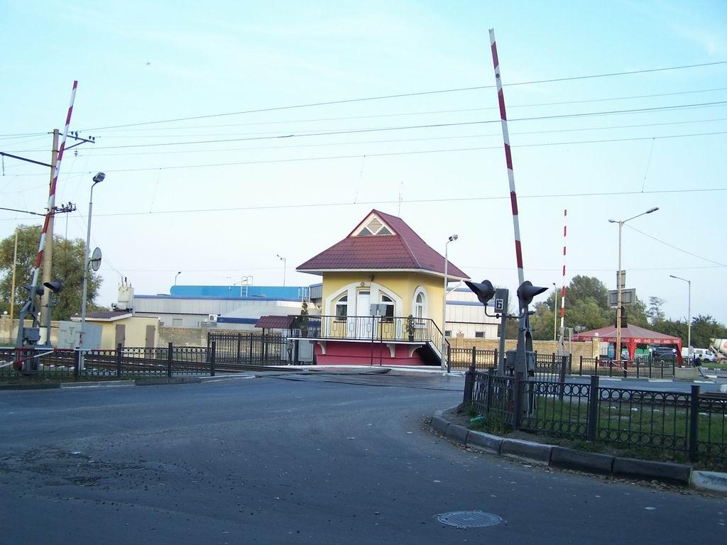 Переїзд на проспекті Науки, м. Київ