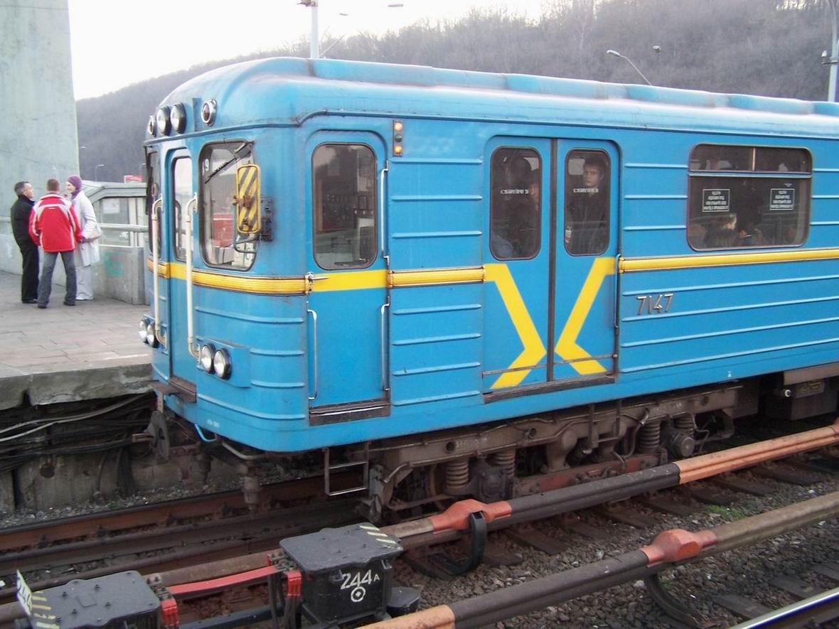 Поїзд на ст. Дніпро