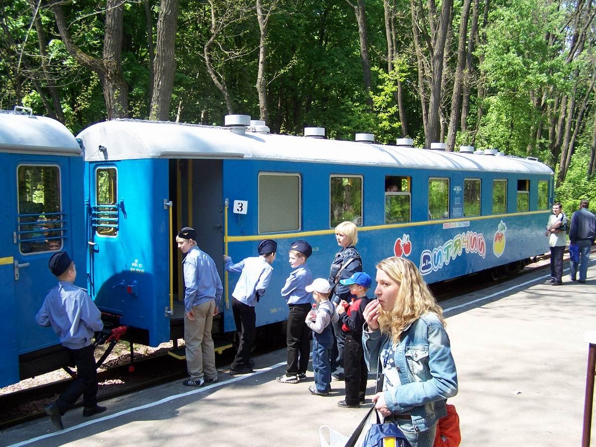 Поїзд на ст. Яблунька