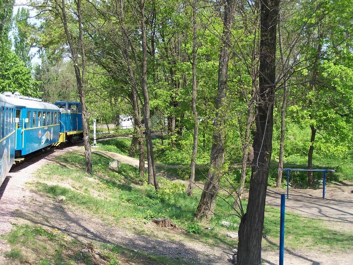 Поїзд на перегоні
