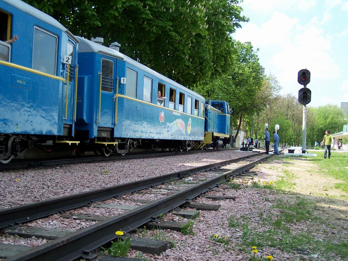 Поїзд на ст. Вишенька