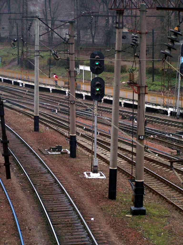 Два зелених - відправлення дозволено! Станція Київ-Волинський