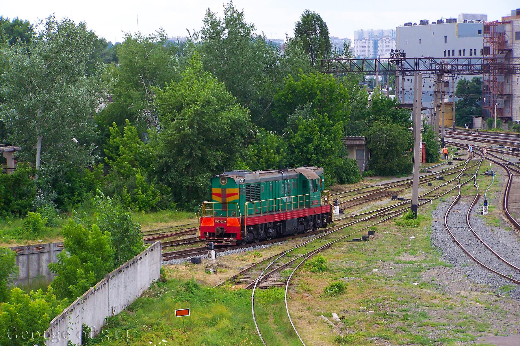 Тепловоз ЧМЭ3-5299, ст. Київ-Петрівка