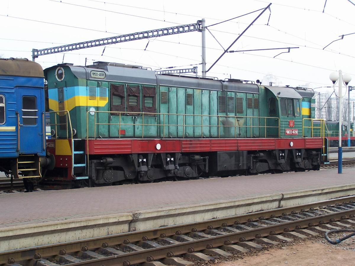 Тепловоз ЧМЕ3-4698, ст. Київ-Пасс.