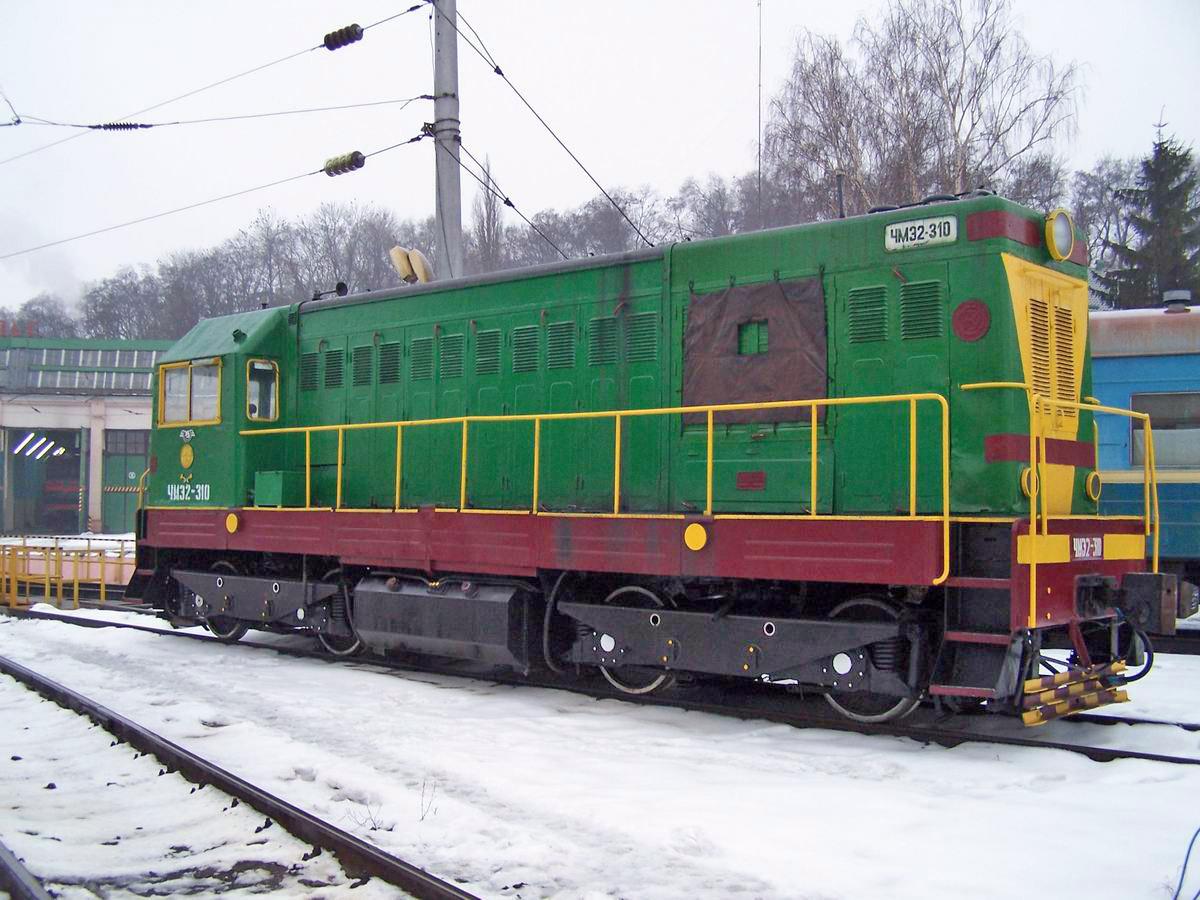 Тепловоз ЧМЕ2-310, локомотивне депо Київ-Пасс.