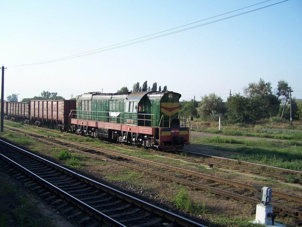 ЧМЕ3-3259 на ст. Миколаїв-Вантажний