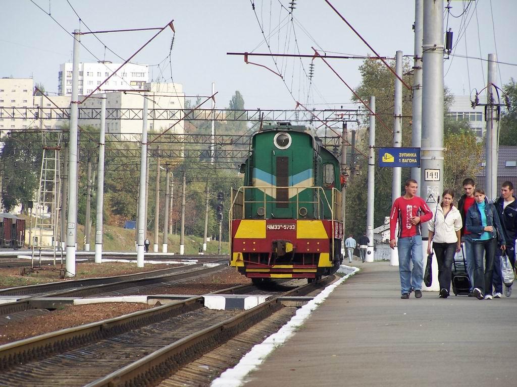 ЧМЕ3т-5793 на ст. Київ-Московський