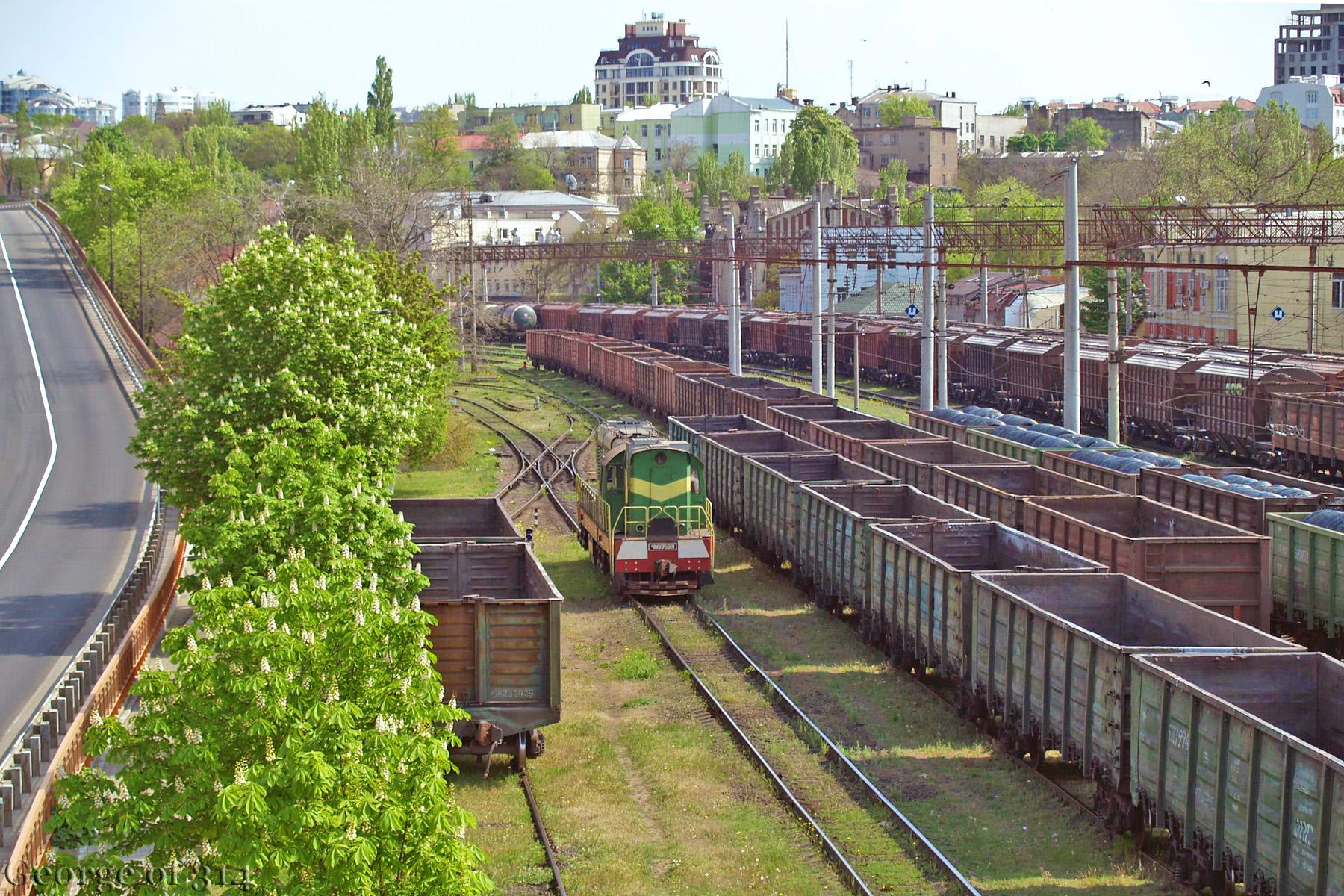 Тепловоз ЧМЭ3-5881, ст. Одеса-Порт