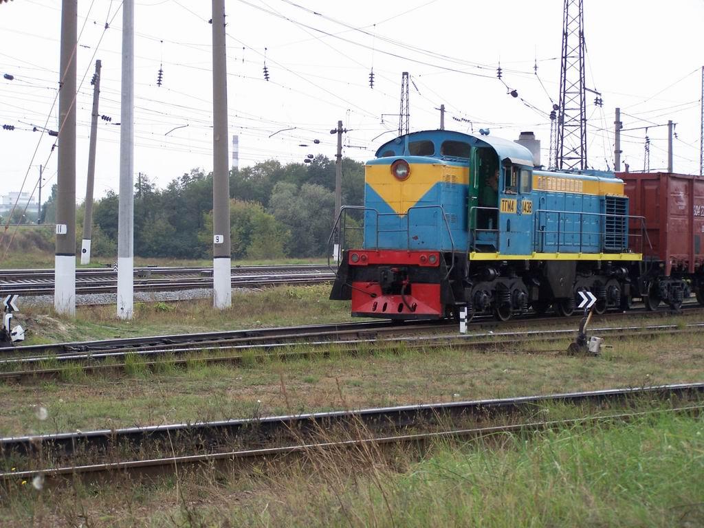 ТГМ4а-1438, ст. Дарниця, м. Київ