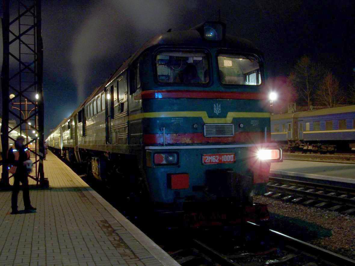Тепловоз 2М62-1000, ст. Івано-Франківськ