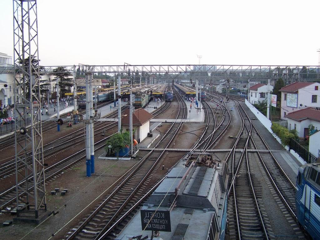 Станція Симферопіль, АР Крим