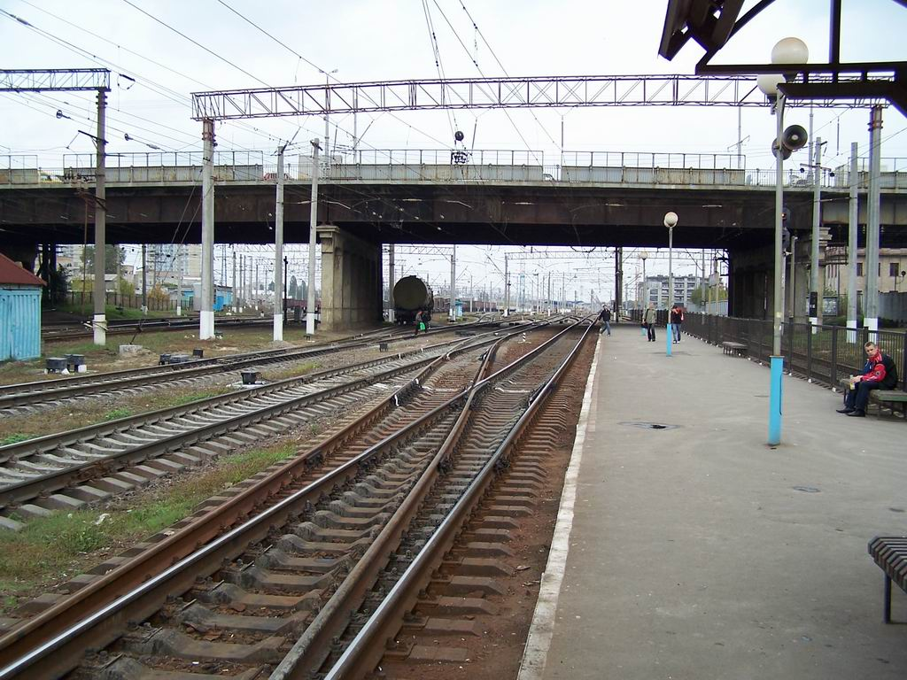 Тимчасова платформа ст. Дарниця, Київ