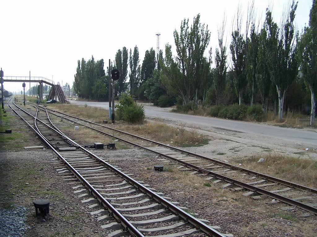 Станція Красноперекопськ, АР Крим