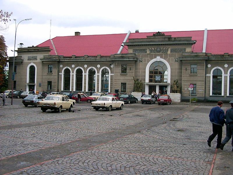 Вокзал Мукачеве, Закарпатська обл.