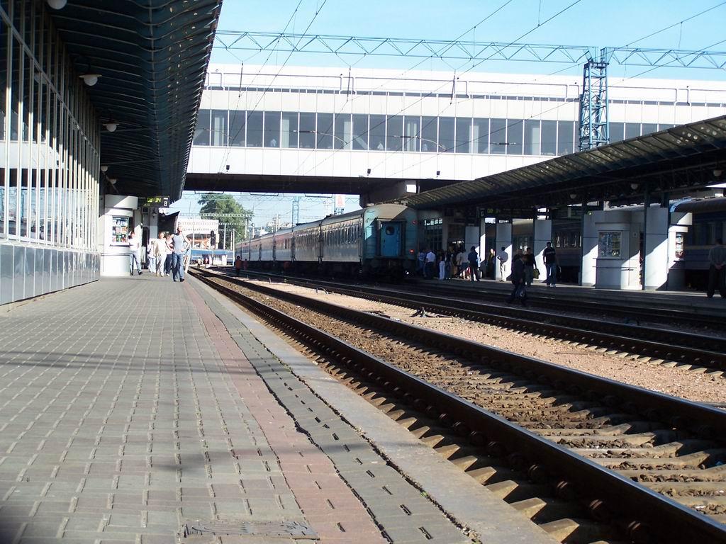 Вокзал Київ-Пасажирський