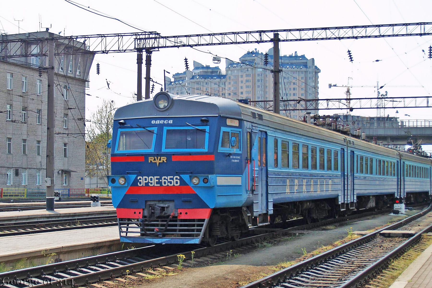 Електропоїзд ЭР9Е-656
