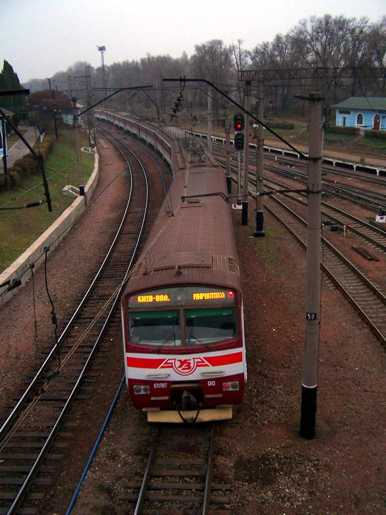 ЕПЛ9т-010 на ст. Київ-Волинський