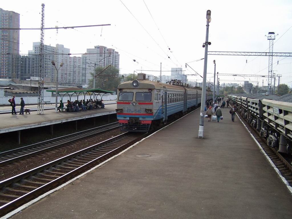 ЕР9м-540 на ст. Київ-Московський