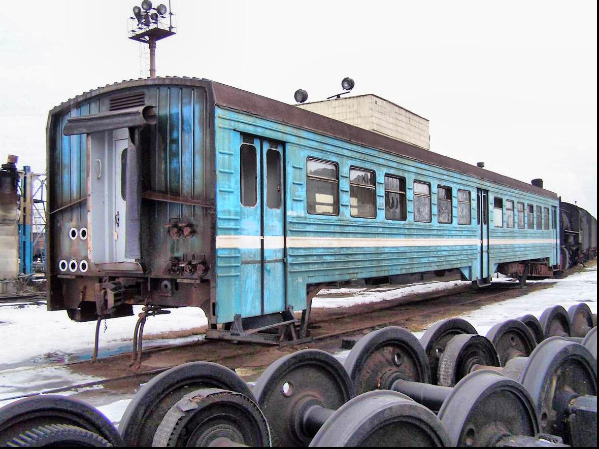 Вагон дизель-поїзда ДПЛ, депо Коломия