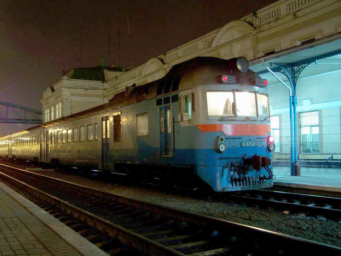 Дизель-поїзд Д1-552, ст. Івано-Франківськ
