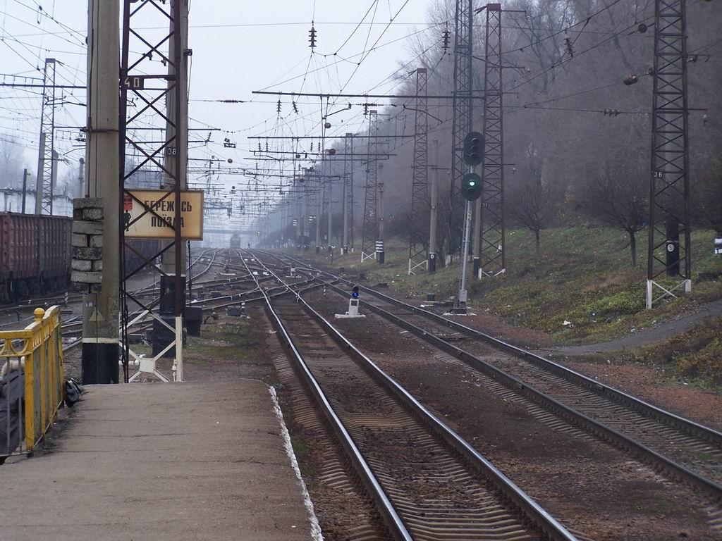 Північна горловина ст. Київ-Волинський