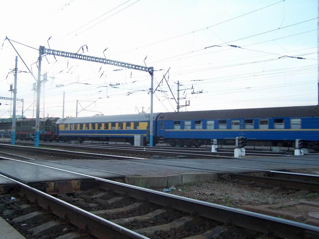 Спальні вагони, ст. Київ-Пасажирський
