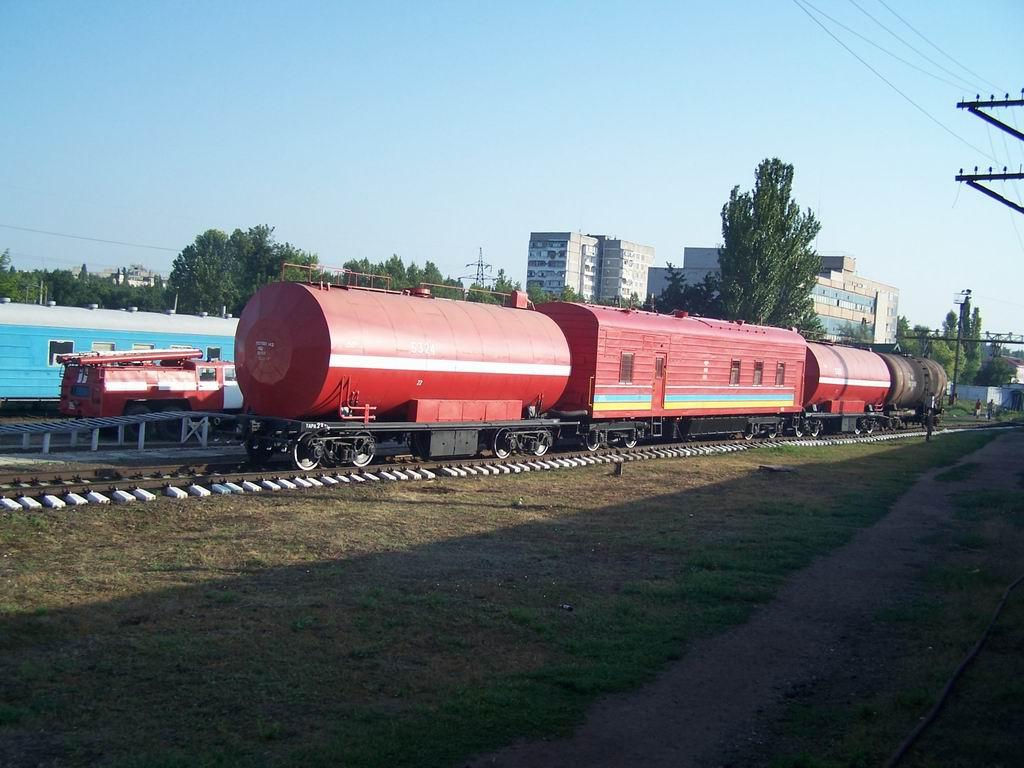 Пожежний поїзд на ст. Миколаїв
