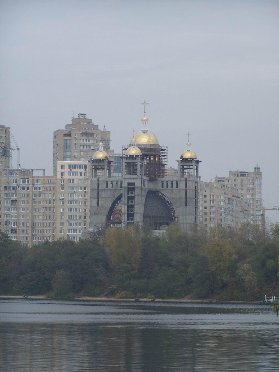Зведення Патріаршого собору Воскресіння Христового Української Греко-Католицької Церкви