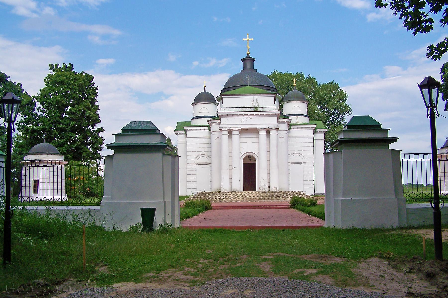 Георгіївська церква біля Качанівського палацу, Чернігівська обл.