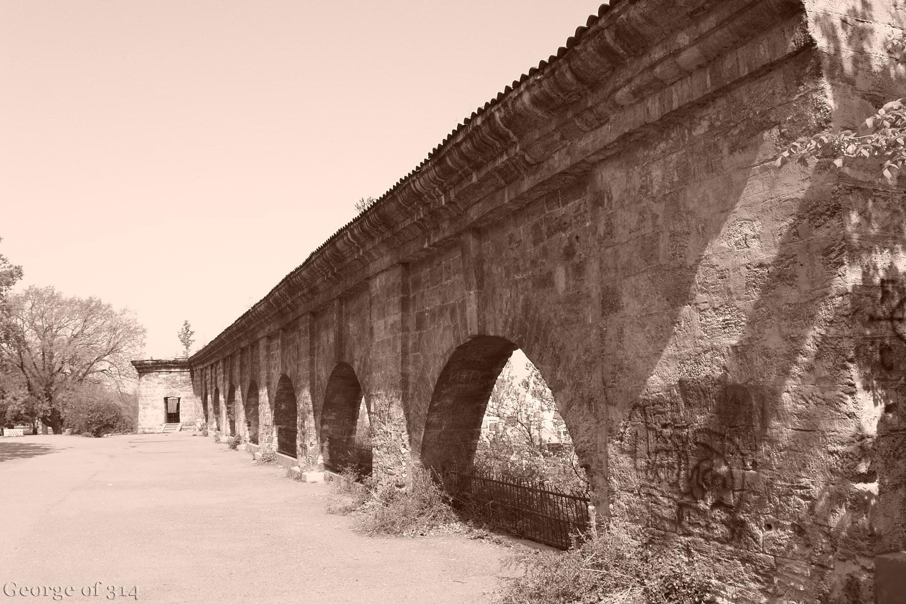 Башта та аркада (північна стіна Карантину), парк ім. Т. Шевченка, Одеса