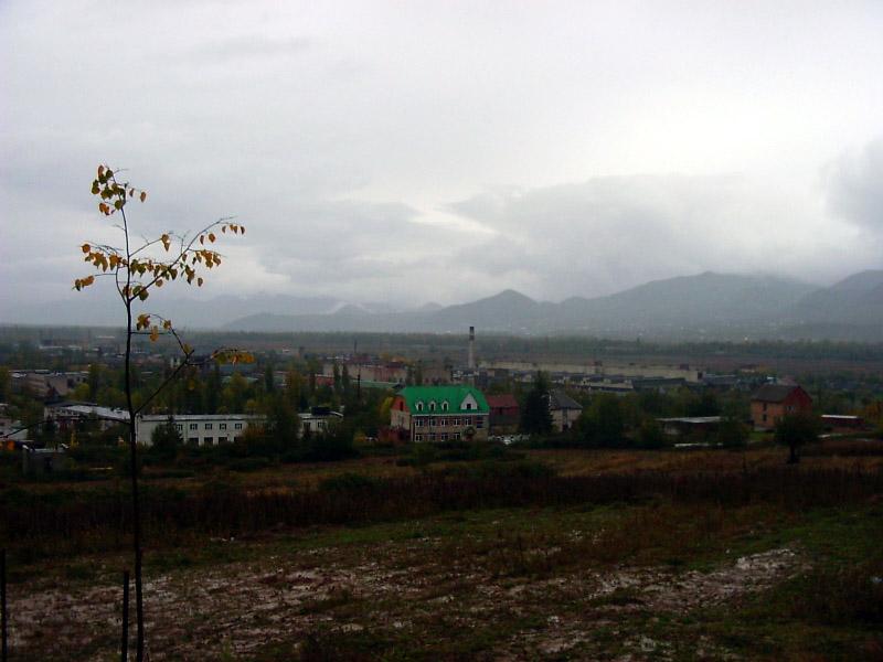 Вигляд із Замкової гори в Сторону Вишкова