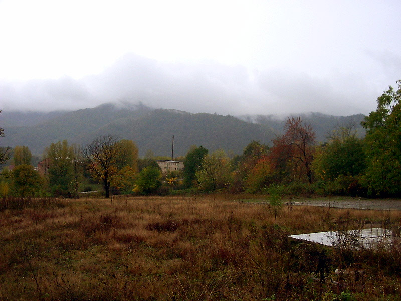 Вигляд із Замкової гори на південь