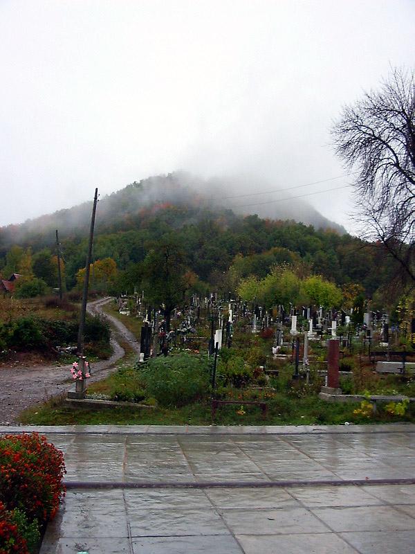 Замкової гори і цвинтар