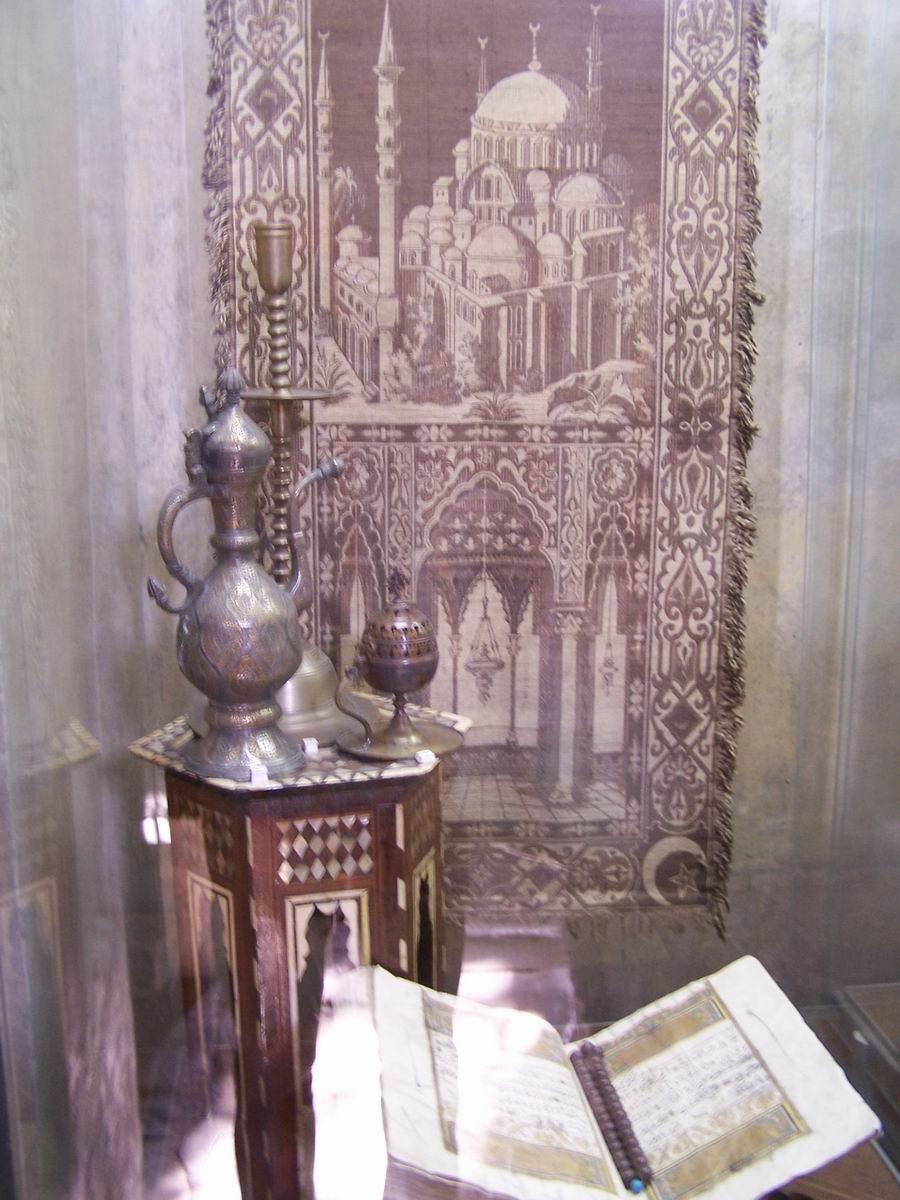 Коран у внутрішній (малій) мечеті
