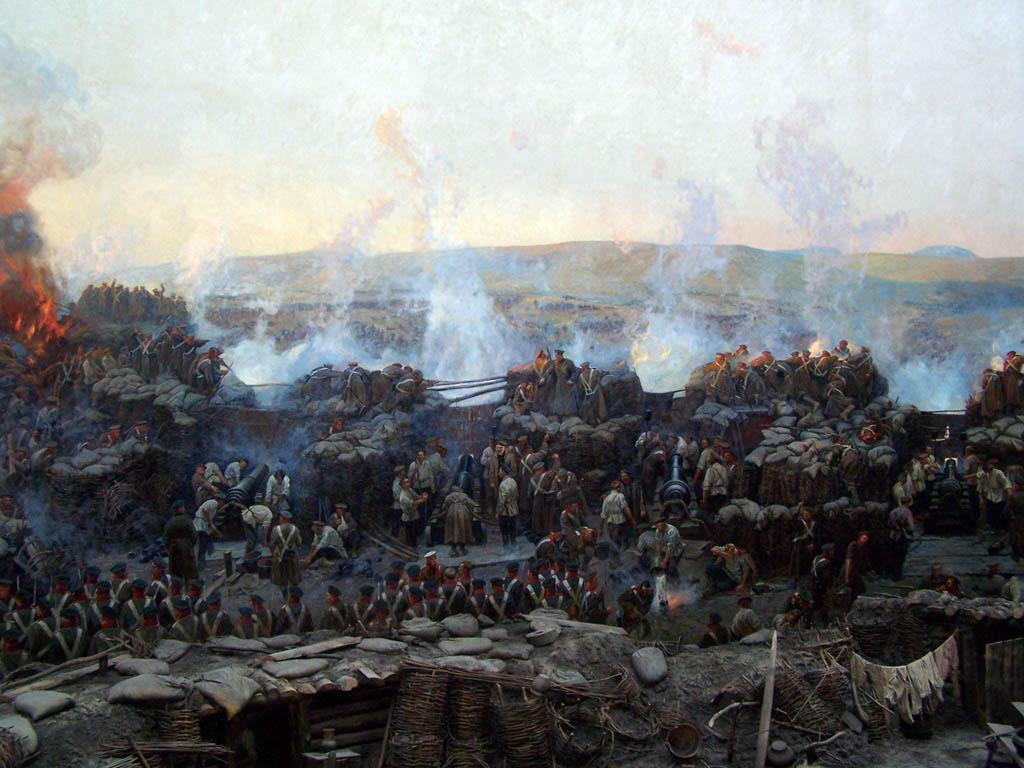 Частина Панорами оборони Севастополя