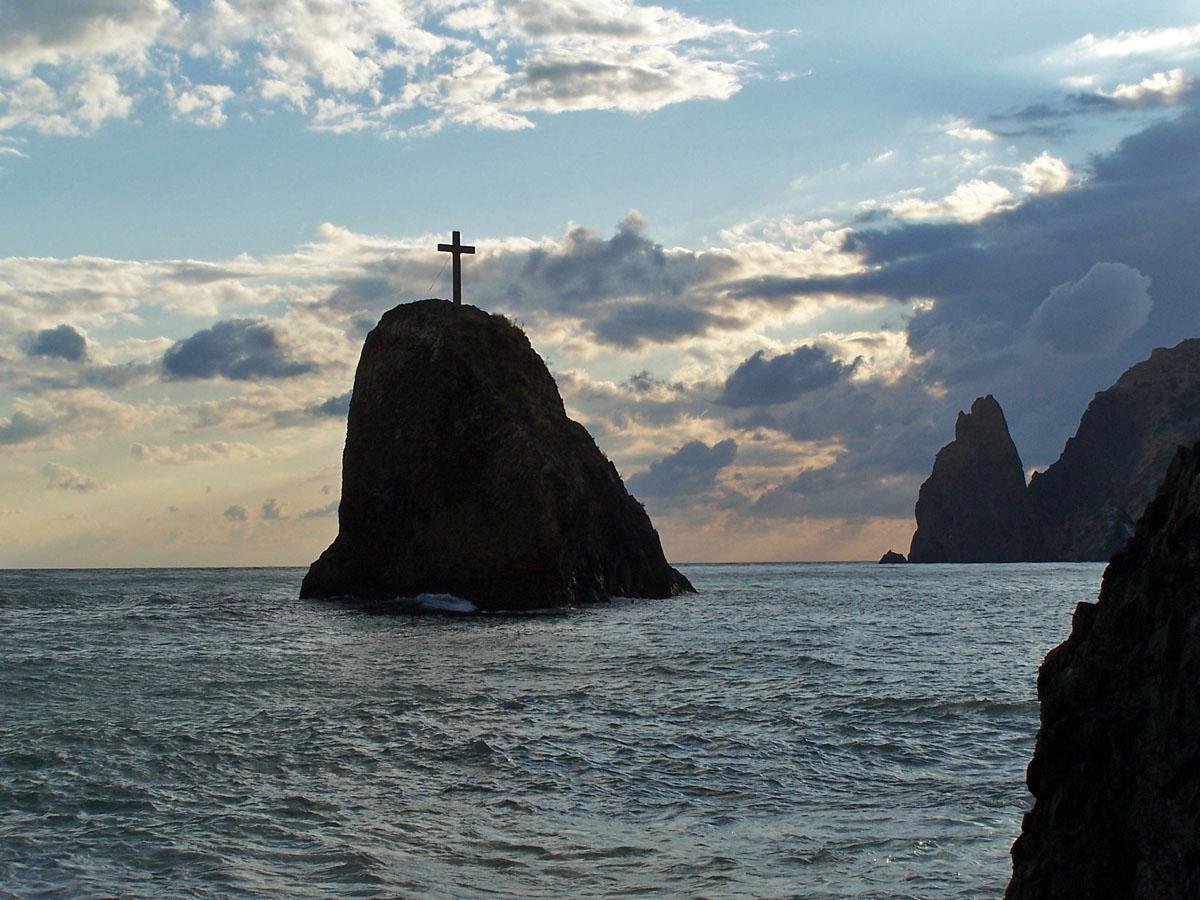 Скеля святого явлення, мис Фіолент