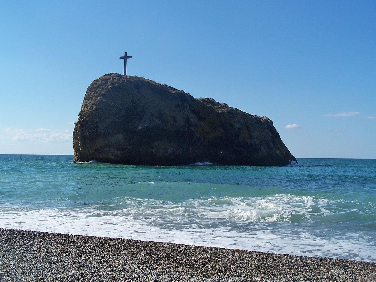 Скеля святого Явлення, Фіолент