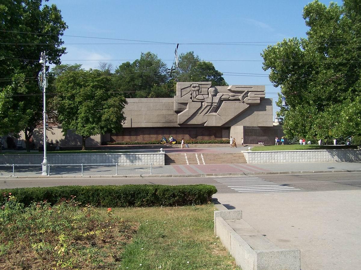 Пам'ятник героям Величкої Вітчизняної війни