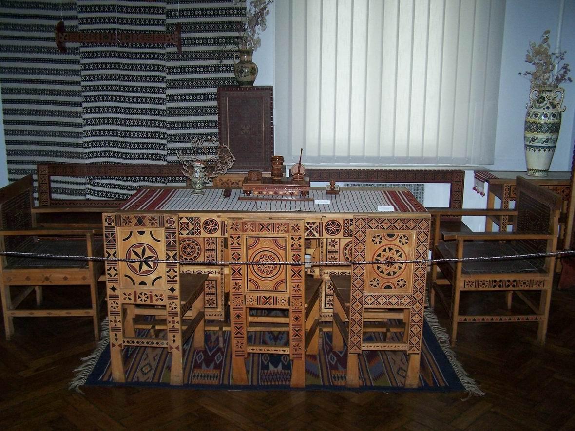 В музеї народного мистецтва Гуцульщини і Покуття